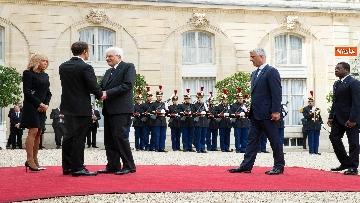 5 - Chirac, Mattarella alla messa solenne a Parigi