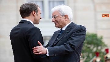 4 - Chirac, Mattarella alla messa solenne a Parigi
