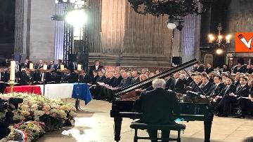 7 - Chirac, Mattarella alla messa solenne a Parigi