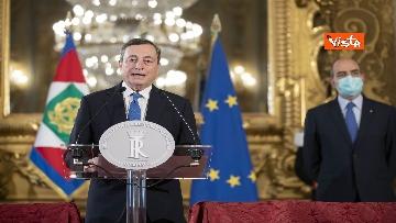 2 - Governo, ecco le parole di Mario Draghi dopo aver ricevuto incarico da Mattarella