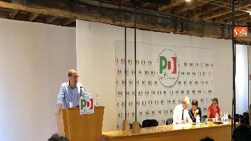 1 - Zingaretti interviene alla direzione del Pd al Nazareno