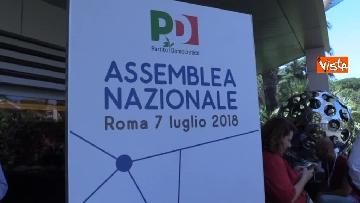 1 - L'assemblea nazionale del Pd