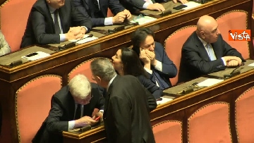4 - Napolitano apre la prima seduta del Senato