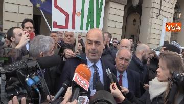 8 - Il neo segretario del Pd Zingaretti incontra il presidente Chiamparino