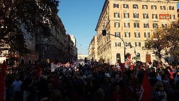 10 - La manifestazione contro il dl Salvini a Roma