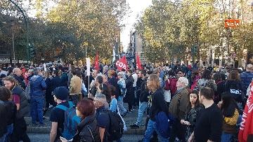 8 - La manifestazione contro il dl Salvini a Roma