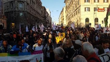 4 - La manifestazione contro il dl Salvini a Roma