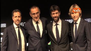 7 - La conferenza di Sarri alla Juventus