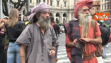 10 - Million marijuana march, il corteo per la legalizzazione della cannabis per le strade di Roma