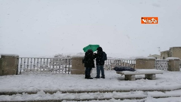 2 - 04-01-19 La citta di Matera ricoperta di neve