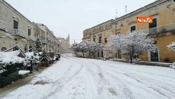 1 - 04-01-19 La citta di Matera ricoperta di neve