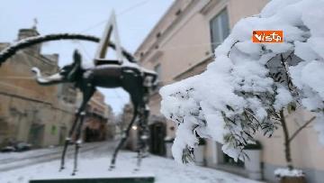 7 - 04-01-19 La citta di Matera ricoperta di neve