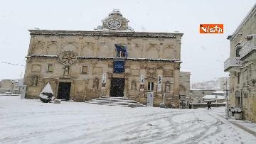 4 - 04-01-19 La citta di Matera ricoperta di neve