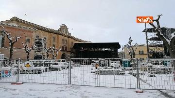 3 - 04-01-19 La citta di Matera ricoperta di neve