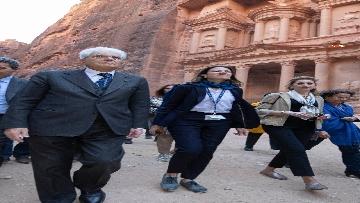 6 - Il Presidente Mattarella visita il Sito Archeologico di Petra