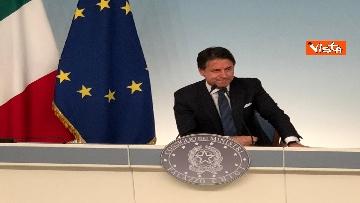 6 - La conferenza stampa di Conte a Palazzo Chigi