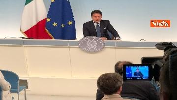 4 - La conferenza stampa di Conte a Palazzo Chigi