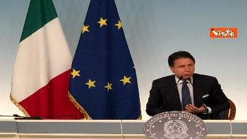 13 - La conferenza stampa di Conte a Palazzo Chigi