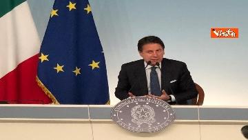 11 - La conferenza stampa di Conte a Palazzo Chigi