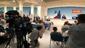 3 - La conferenza stampa di Conte a Palazzo Chigi