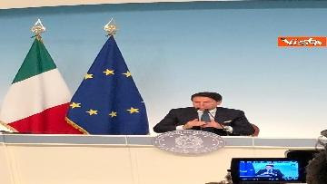 15 - La conferenza stampa di Conte a Palazzo Chigi