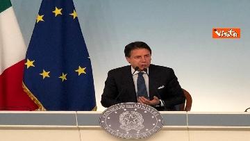 14 - La conferenza stampa di Conte a Palazzo Chigi