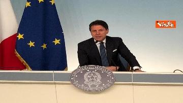 7 - La conferenza stampa di Conte a Palazzo Chigi