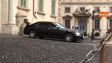 3 - Consultazioni, Casellati lascia il Quirinale in auto