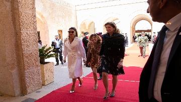 4 - Il Presidente Mattarella al Palazzo Reale ricevuto da Sua Maestà, il Re Abdullah II