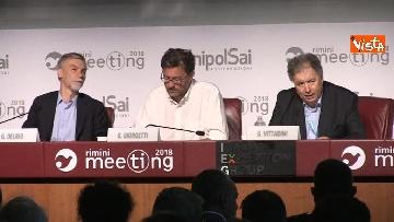 3 - Giorgetti e Delrio al meeting di Rimini