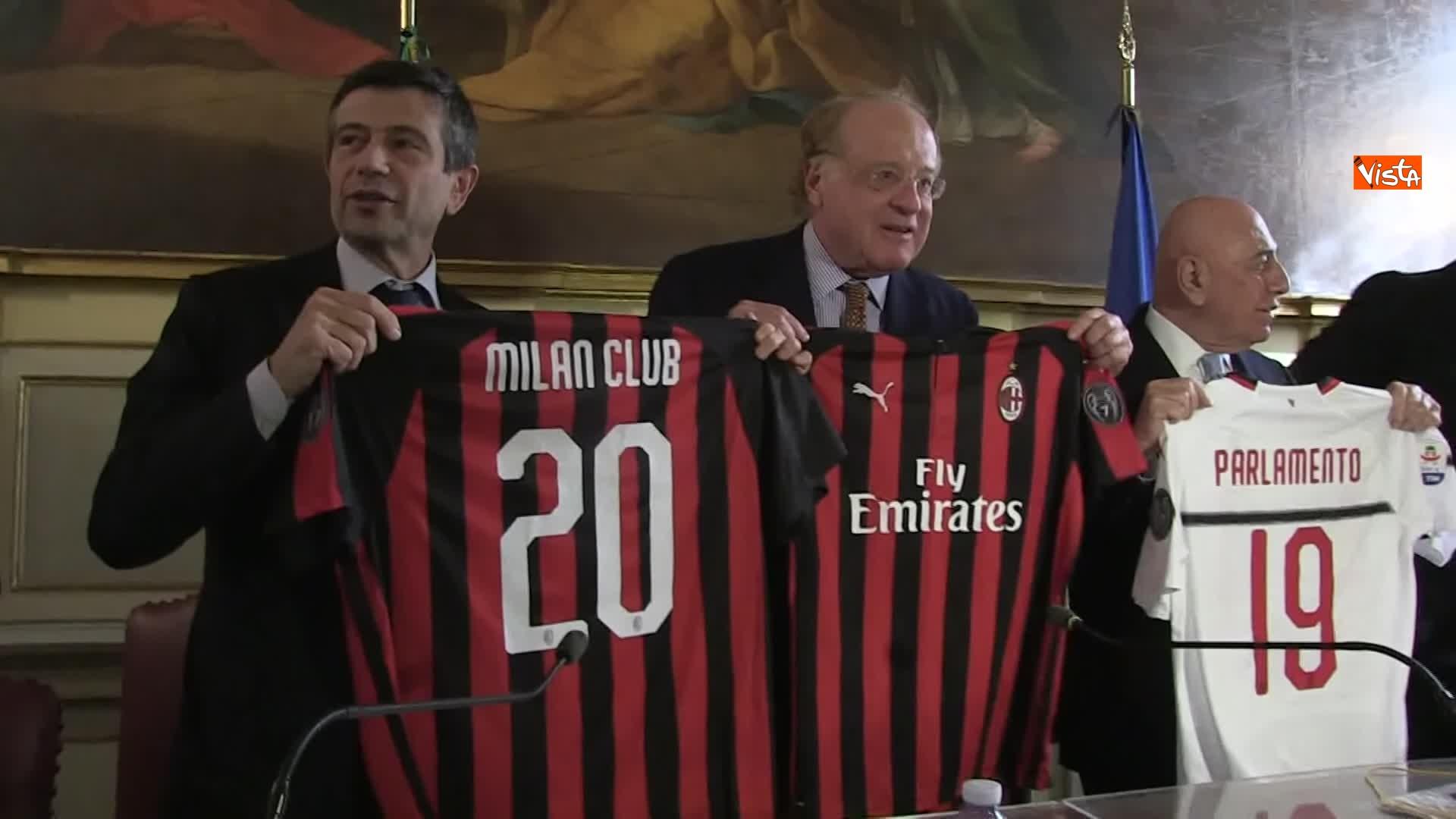 Maurizio Lupi, Paolo Scaroni, Adriano Galliani