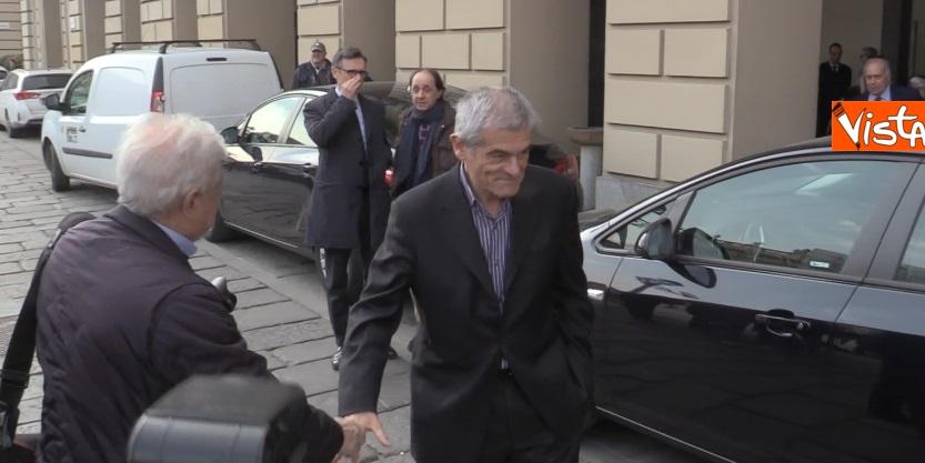 Sergio Chiamparino in piazza Castello a Torino