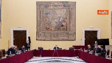 1 - Consultazioni, Draghi incontra i rappresentant di alleanza di Centro