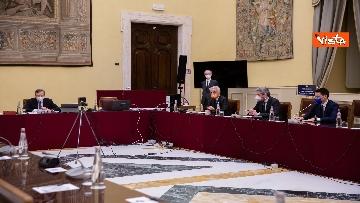 2 - Consultazioni, Draghi incontra i rappresentant di alleanza di Centro