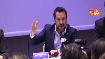 7 - Salvini comincia la campagna elettorale insieme agli alleati sovranisti