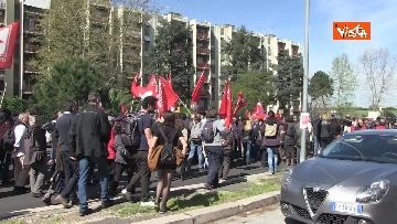 8 - Il corteo antifascista a Torre Maura