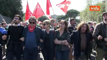 3 - Il corteo antifascista a Torre Maura