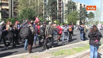 7 - Il corteo antifascista a Torre Maura
