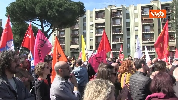 4 - Il corteo antifascista a Torre Maura
