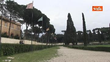 10 - Pasqua in zona rossa, vietato l'accesso alla Terrazza del Pincio a Roma