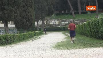 11 - Pasqua in zona rossa, vietato l'accesso alla Terrazza del Pincio a Roma