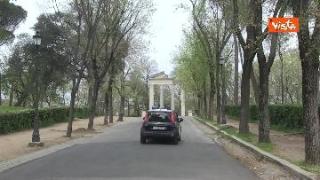 9 - Pasqua in zona rossa, vietato l'accesso alla Terrazza del Pincio a Roma