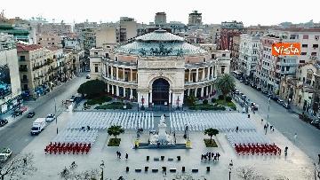 3 - Primo Maggio, le 1133 sagome dell'Ugl a Palermo per ricordare i morti sul lavoro