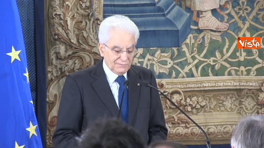 09-05-18 Mattarella alla giornata in memoria delle vittime del terrorismo