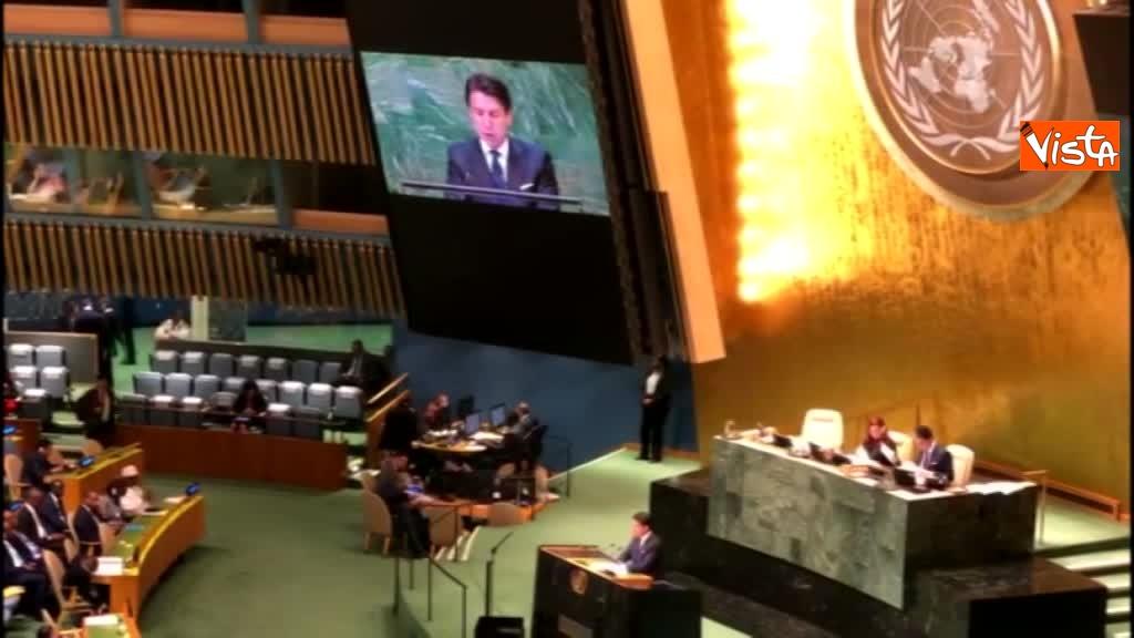 Il premier Conte interviene all'Assemblea Generale delle Nazioni Unite_04