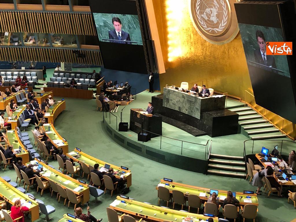 Il premier Conte interviene all'Assemblea Generale delle Nazioni Unite_15
