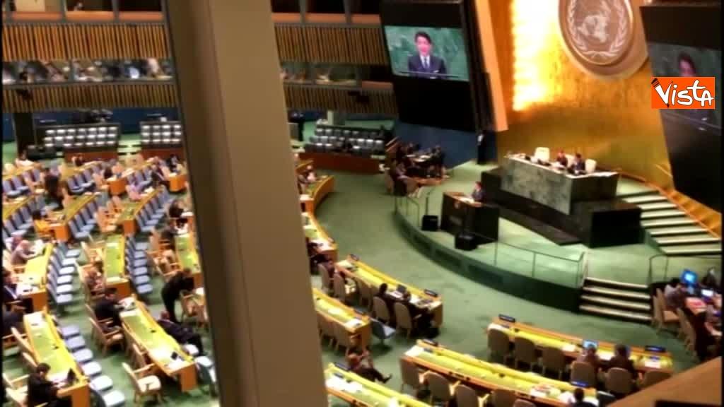 Il premier Conte interviene all'Assemblea Generale delle Nazioni Unite_02