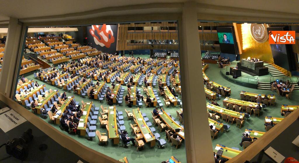 Il premier Conte interviene all'Assemblea Generale delle Nazioni Unite_17