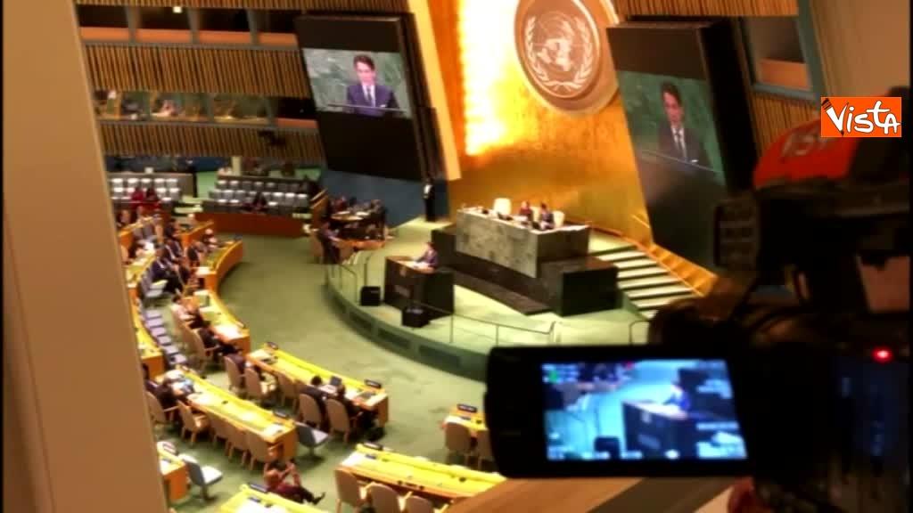 Il premier Conte interviene all'Assemblea Generale delle Nazioni Unite_06