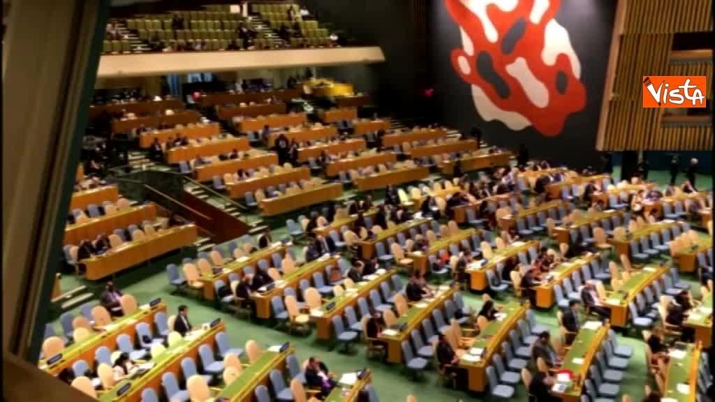 Il premier Conte interviene all'Assemblea Generale delle Nazioni Unite_07